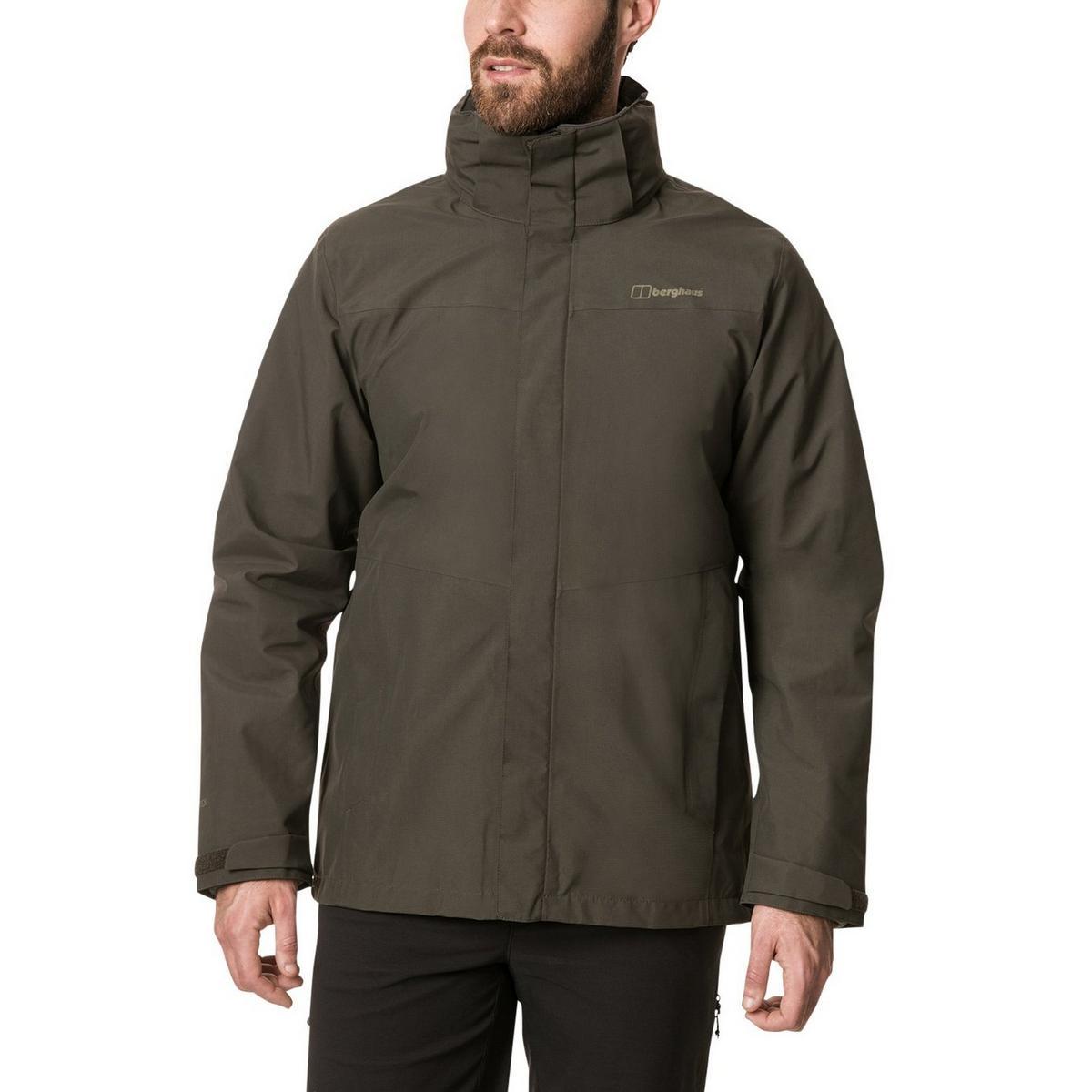 Berghaus Men's Berghaus Hillwalker Gemini 3in1 Waterproof Jacket - Green