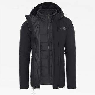 Men's Carto Zip-In Triclimate Jacket - Black