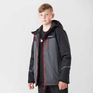 Kids' Berghaus Rannoch Jnr Insulated Waterproof Jacket - Black
