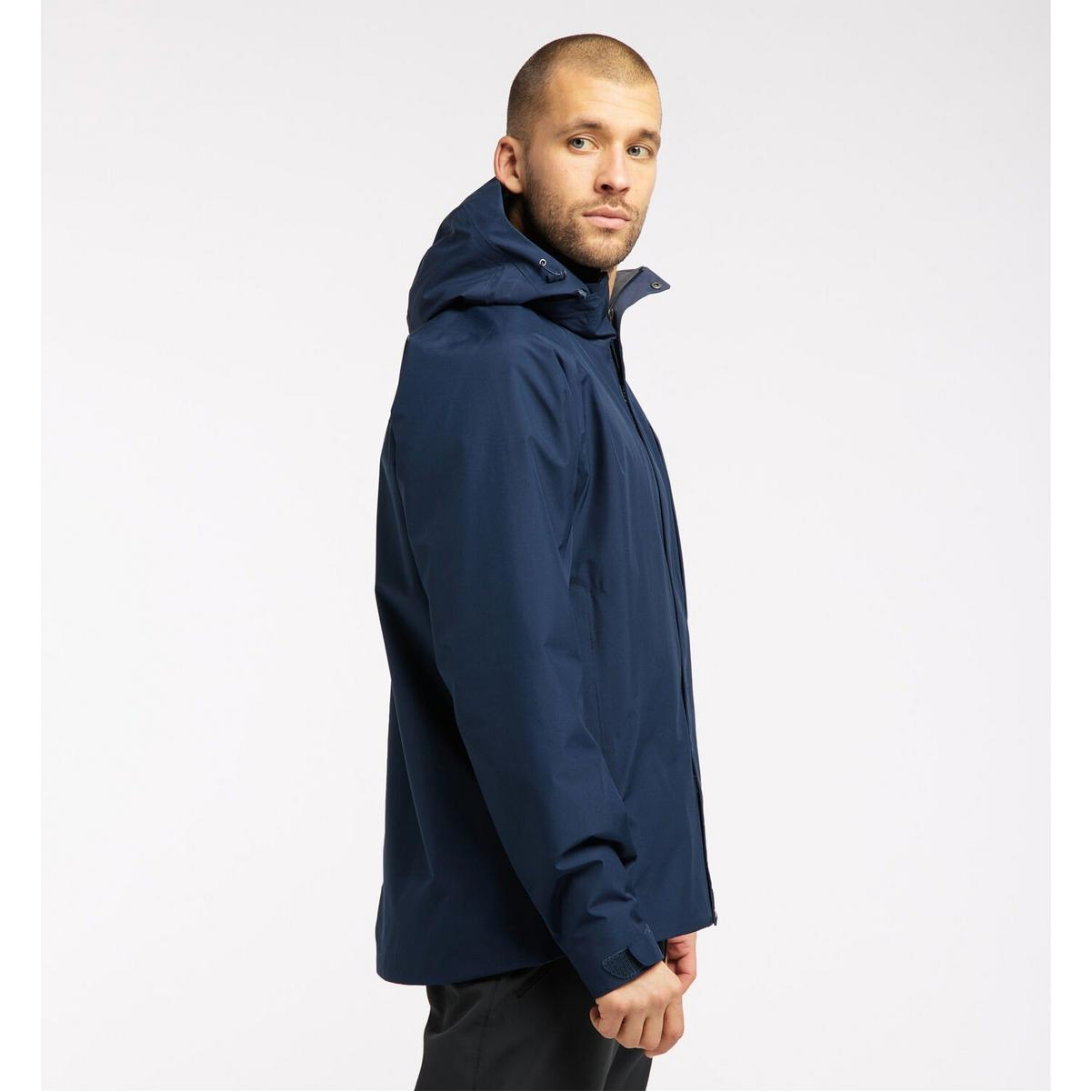 Haglofs Men's Stratus Waterproof Jacket - Blue