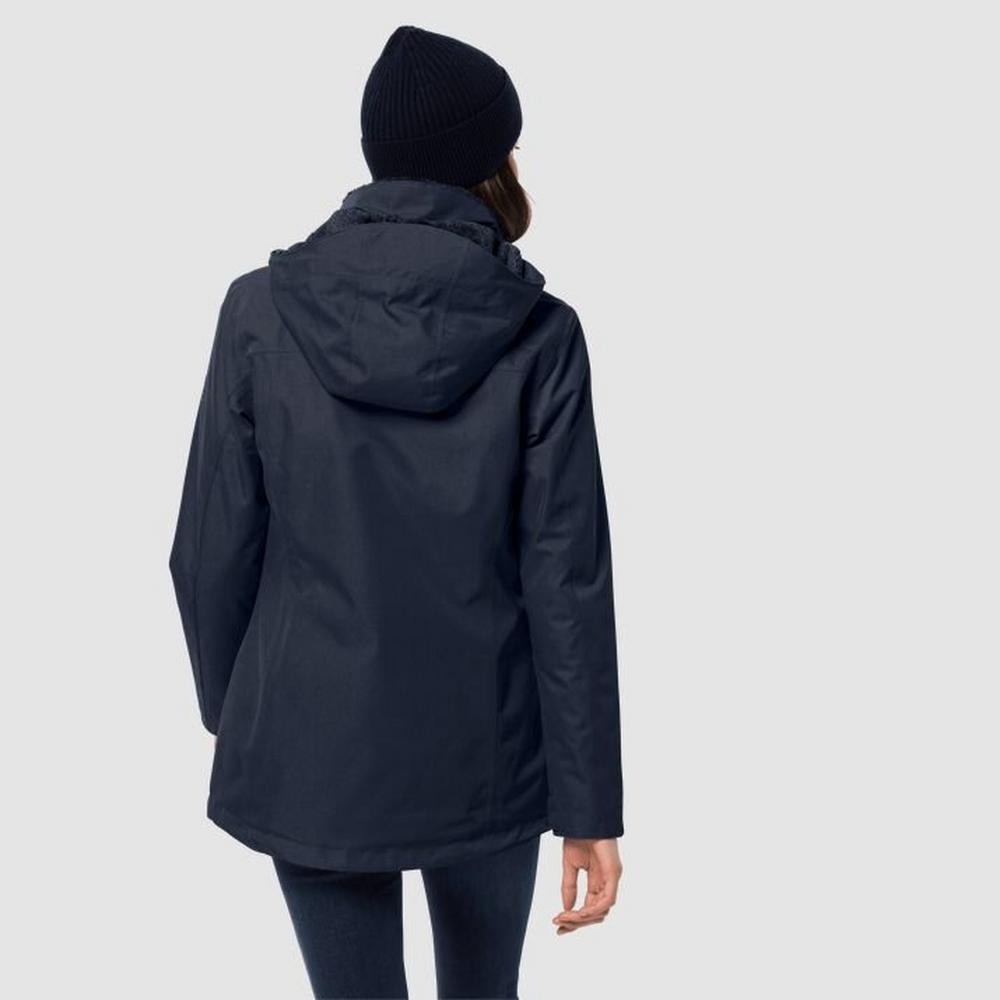 Jack Wolfskin Women's Park Avenue Jacket - Midnight Blue
