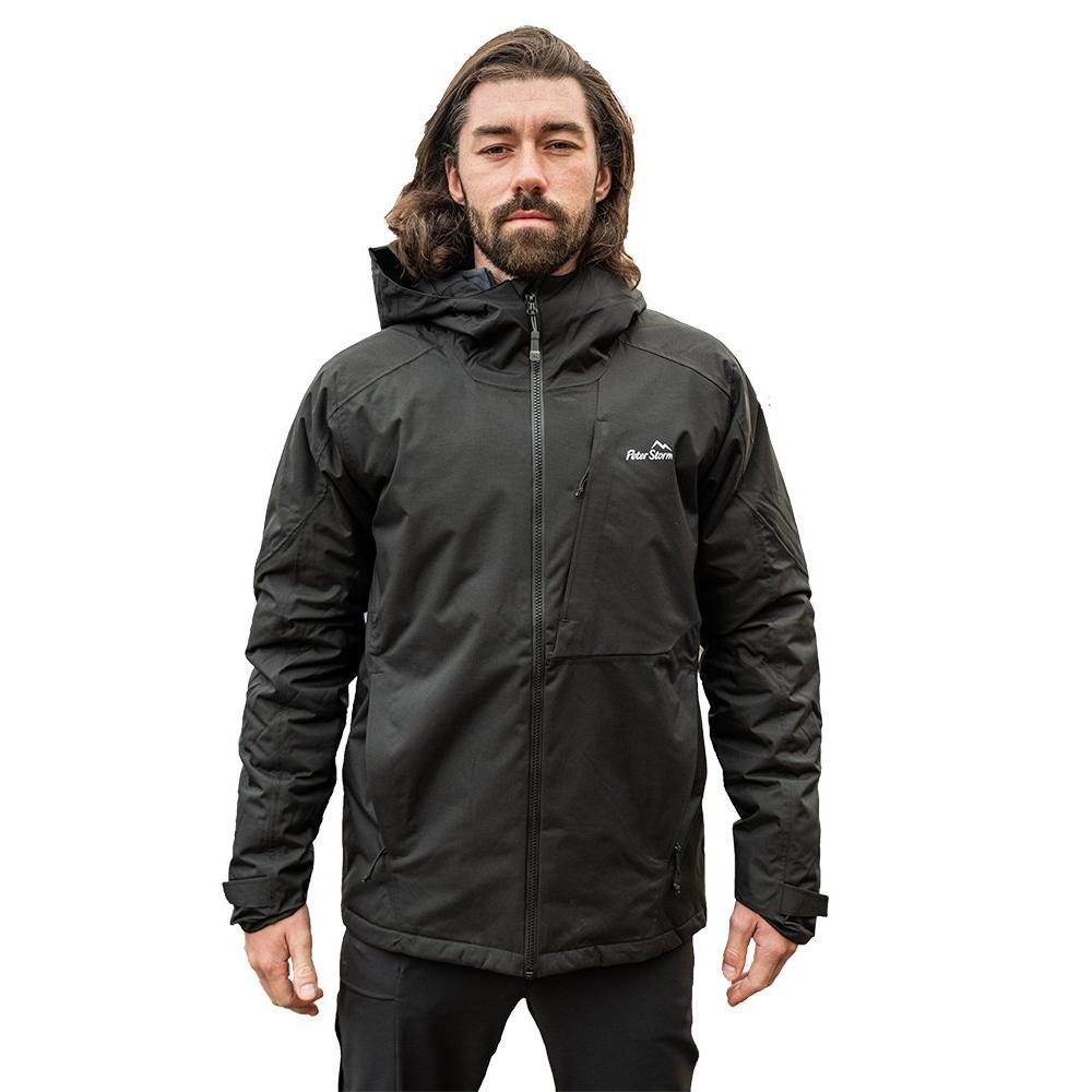Peter Storm Men's Tech Insulated Jacket - Black