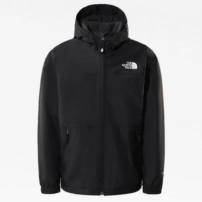 The North Face Kids Warm Storm Rain Jacket - Black