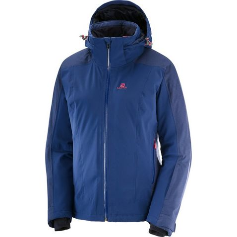 6b83eb23ac30c Navy Salomon Women s Brilliant Jacket