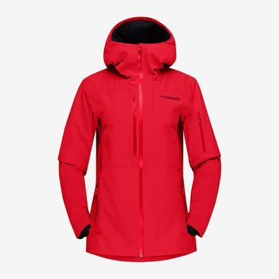 Norrona Women's Lofoten GTX Insulated Jacket - True Red