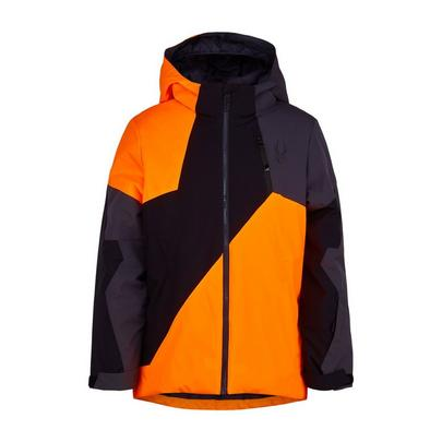 Spyder Kid's Ambush Jacket - Bryte Orange