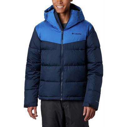 Columbia Men's Iceline Ridge Ski Jacket - Collegiate Navy/Bright Indigo