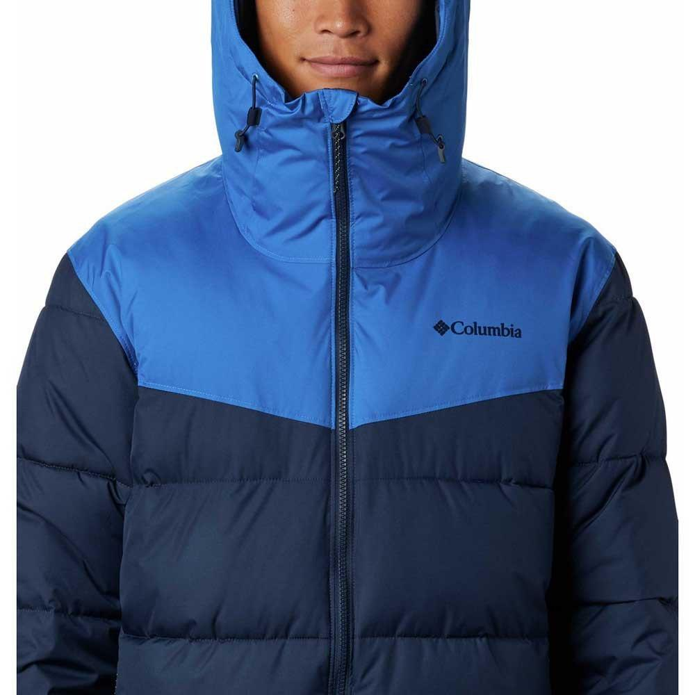 Columbia Men's Iceline Ridge Ski Jacket - Collegiate Navy/Bright Indigo