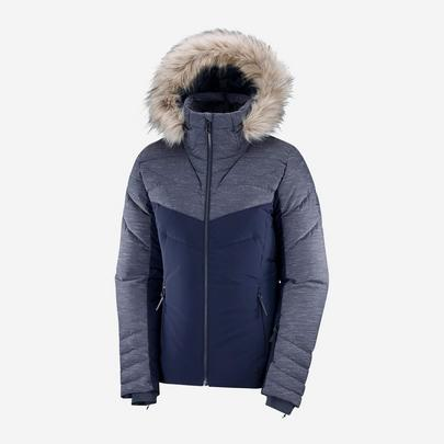 Salomon Women's Warm Ambition Jacket - Night Sky