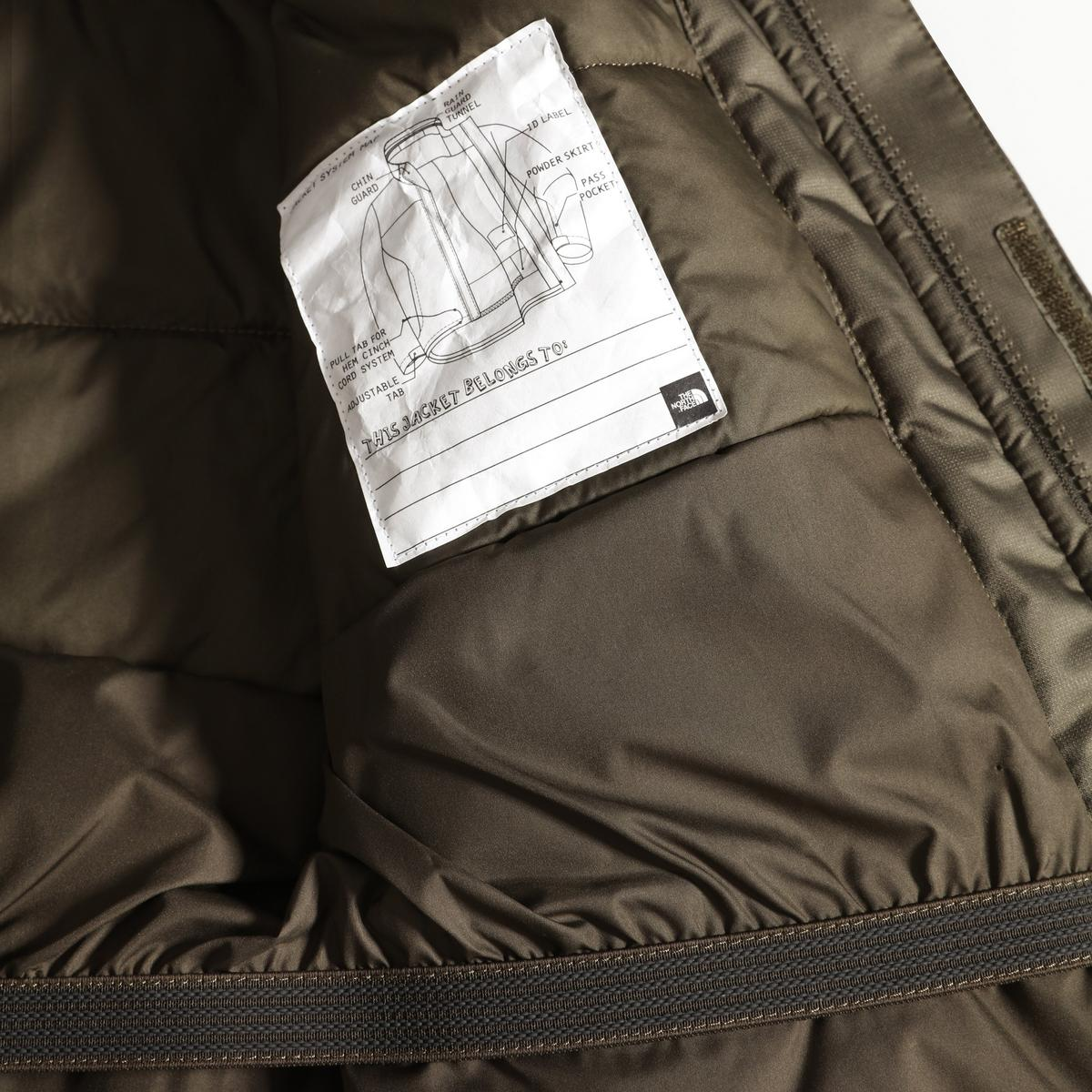 The North Face Kid's Youth Snowquest Jacket - New Taupe Green/TNF White