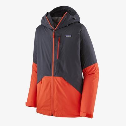 Patagonia Men's Snowshot Jacket - Smolder Blue w/Metric Orange