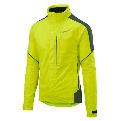 Altura Men's Nightvision Twilight Waterproof Jacket - Hi Vis Yellow