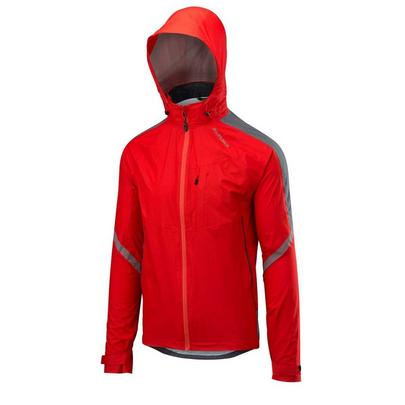 Altura Men's Nightvision Cyclone Waterproof Jacket - Red