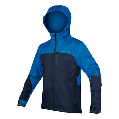 Endura Men's Singletrack Waterproof Jacket - Navy