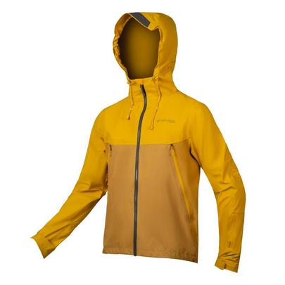 Endura Men's MT500 Waterproof Jacket - Mustard