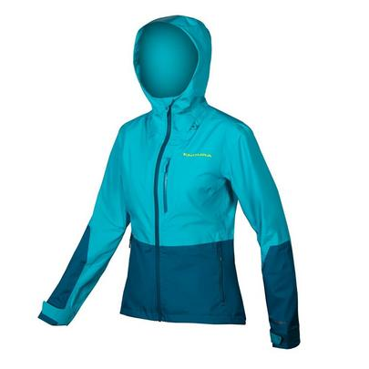 Endura Women's Singletrack Waterproof Jacket - Kingfisher