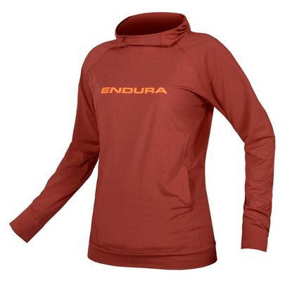 Endura Women's Singletrack Hoodie - Red