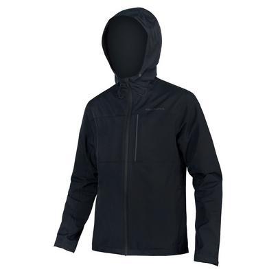 Endura Men's Hummvee Waterproof Hooded Jacket - Black