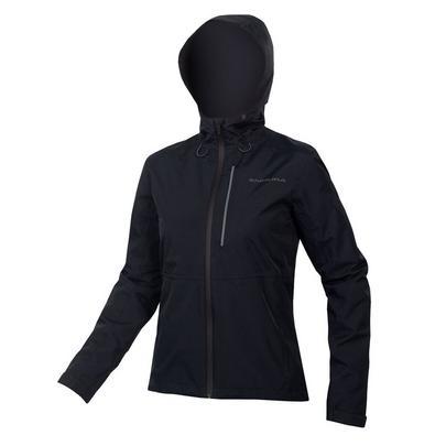 Endura Women's Hummvee Waterproof Hooded Jacket - Black
