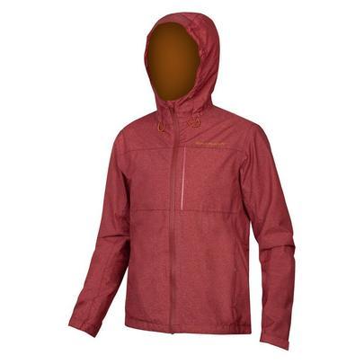 Endura Men's Hummvee Waterproof Hooded Jacket - Cocoa