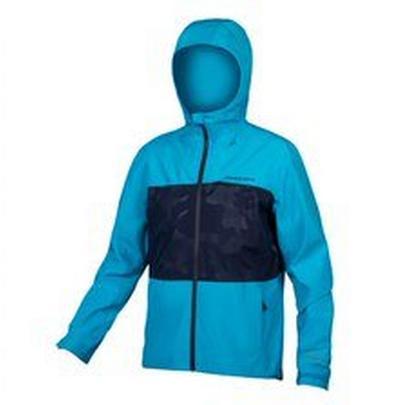 Endura Men's SingleTrack Jacket II - Electric Blue