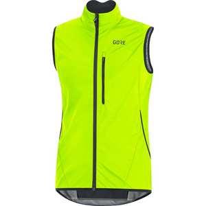 Men's C3 WindStopper Light Vest - Neon Yellow