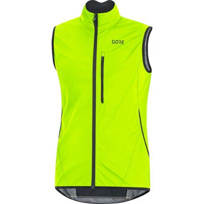 Gore Men's C3 WindStopper Light Vest - Neon Yellow