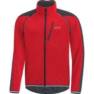 Men's C3 Phantom Windstopper Zip-Off Jacket - Red/Black