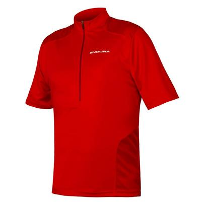Endura Men's Hummvee S/S Jersey - Red