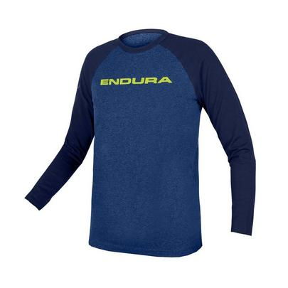 Endura Kids' One Clan Raglan L/S Jersey - Blue