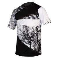 Men's Singletrack Dots Tee Ltd - Black
