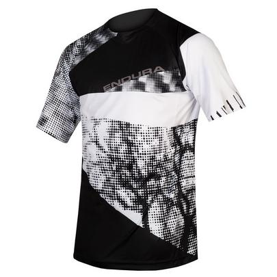 Endura Men's Singletrack Dots Tee Ltd - Black