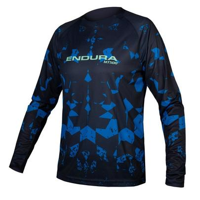Endura Men's MT500 Kali L/S Tee Ltd - Navy