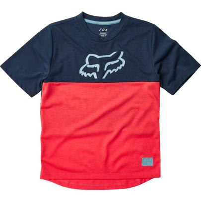 Fox Youth Ranger Dri-Release SS Jersey - Bright Red