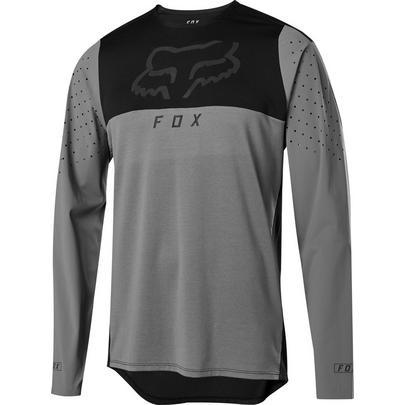 Fox Men's Flexair Delta LS Jersey - Pewter
