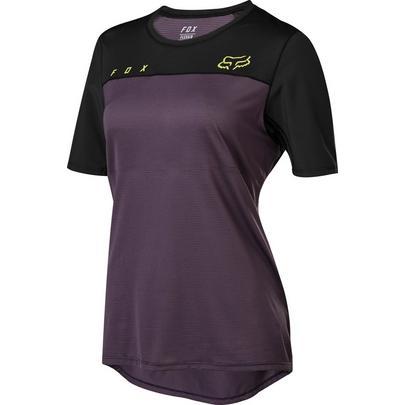 Fox Women's Flexair SS Jersey - Purple