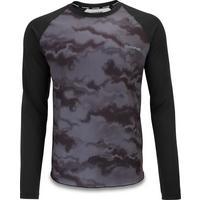 Men's Dropout Long Sleeve Jersey - Black
