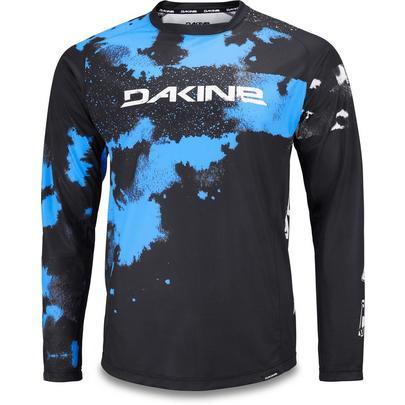 Dakine Men's Thrillium L/S Jersey - Cyan Blue