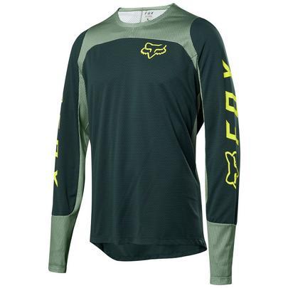 Fox Defend Long Sleeve Fox Jersey - Green