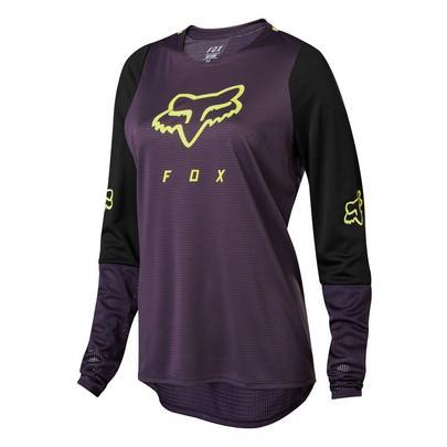 Fox Women's Defend Long Sleeve Jersey - Purple