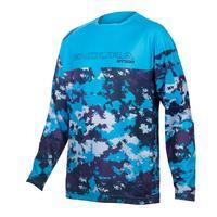 Kids MT500JR Long Sleeve Jersey - Electric Blue