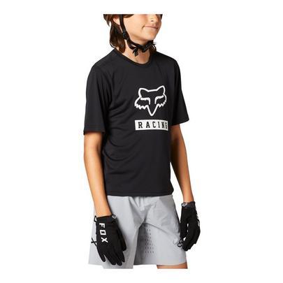Fox Youth Ranger Short Sleeve Jersey - Black