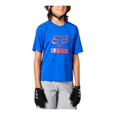 Fox Youth Ranger Short Sleeve Jersey - Blue