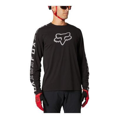Fox Men's Ranger Dri-Release Long Sleeve Jersey - Black
