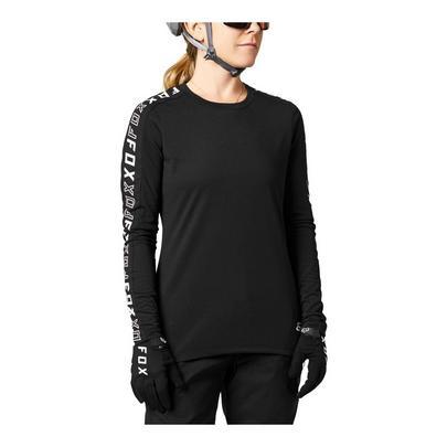 Fox Women's Ranger Dri-Release Long Sleeve Jersey - Black
