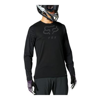 Fox Men's Flexair Delta Long Sleeve Jersey - Black