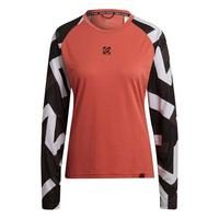 Women's The Trail Long Sleeve Jersey - Crew Red Sand