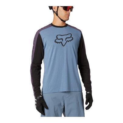 Fox Men's Ranger Dri-Release Long Sleeve Jersey - Matte Blue