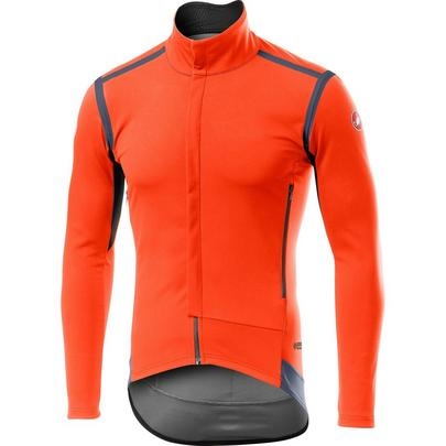 Castelli Men's Perfetto RoS Long Sleeve - Orange