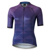 Women's Icon Wave Short Sleeve Jersey - Purple